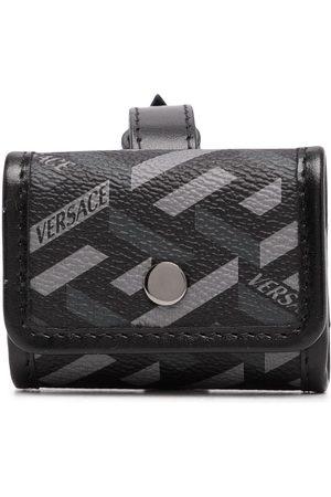 VERSACE Muži Peněženky - Greca-print buckle-fastening wallet
