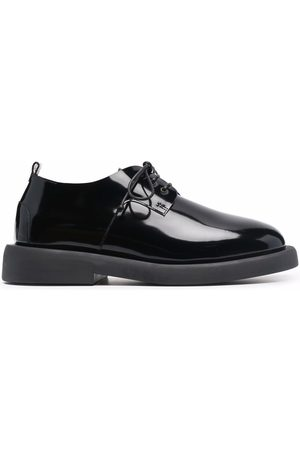 MARSÈLL Glossy-finish Derby shoes