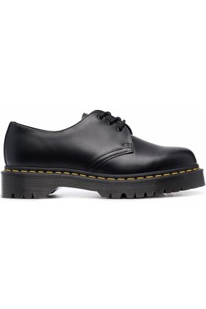 Dr. Martens Polished-finish lace-up shoes