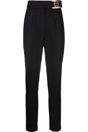 Elie saab High-waisted tapered trousers