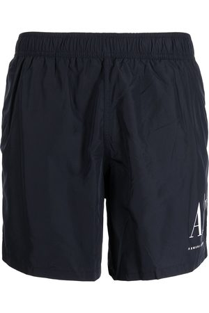 Armani Logo-print swim shorts