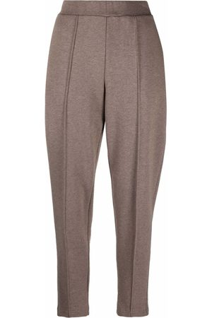 12 STOREEZ Slim-fit tapered trousers