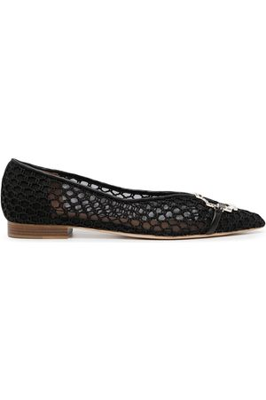 MALONE SOULIERS Collina woven ballet shoes