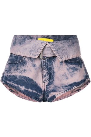 MARQUES'ALMEIDA Ženy Kraťasy - Folding waistband shorts