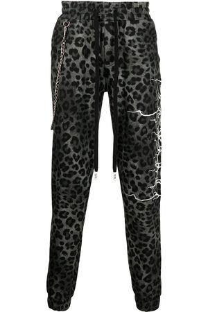 HACULLA All-over leopard print trackpants