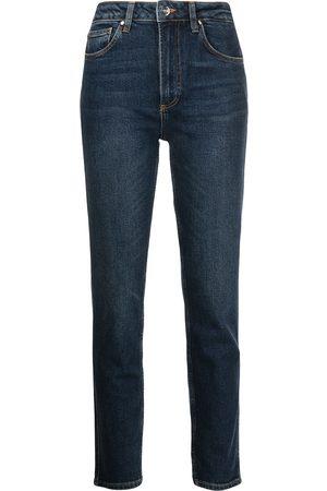 ANINE BING Ženy S vysokým pasem - Jagger high-rise skinny jeans