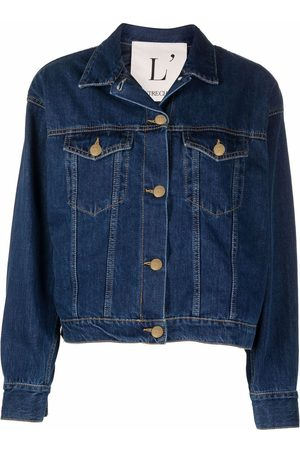 L'Autre Chose Ženy Džínové bundy - Classic denim jacket