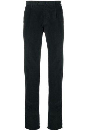 Incotex Pleat-detail corduroy trousers