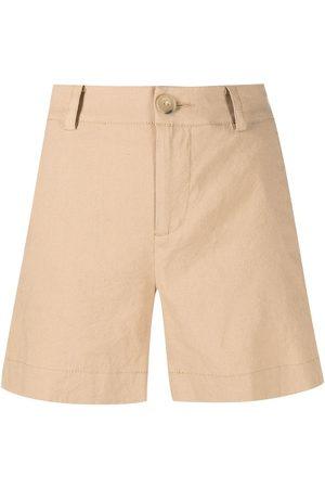 Vince High-waisted short shorts