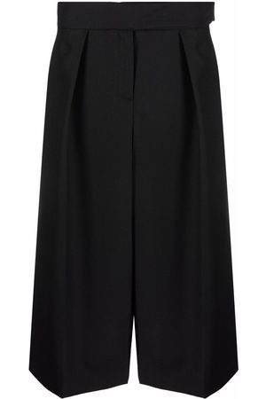 ALEXANDRE VAUTHIER Pressed-pleat culottes