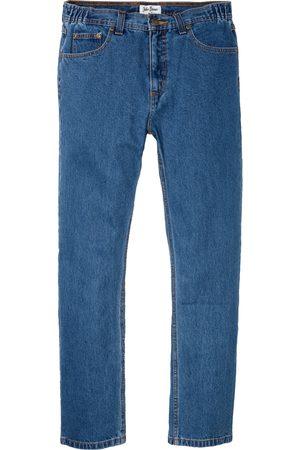 bonprix Muži Rovné nohavice - Džíny Classic Fit Straight, pasovka s elastickými vsadkami
