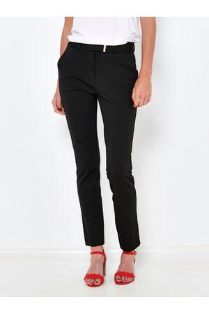 Camaïeu Černe slim fit kalhoty