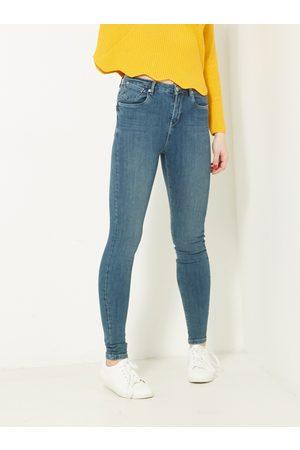 Camaïeu Modré skinny fit džíny