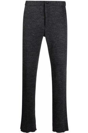Incotex Marled straight-leg trousers