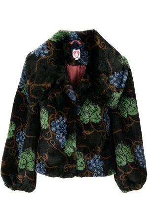 Shrimps Ženy Bundy - Grape-print jacket