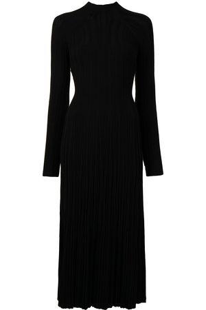 DION LEE Lung-twist longsleeved midi dress