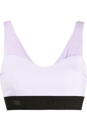Marchesa Ženy Sportovní - Lace-up detail sports bra