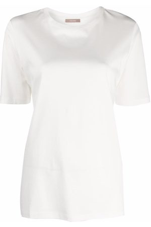 12 STOREEZ Ženy S krátkým rukávem - Round neck short-sleeved T-shirt