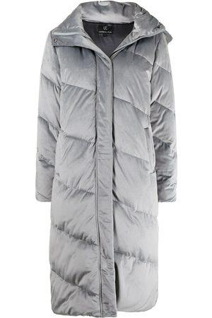 Unreal Fur Ženy Parky - Concrete Jungle midi coat