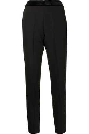 Twin-Set Ženy Společenské - Cropped tailored trousers
