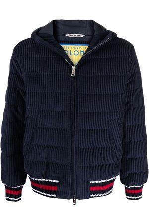 Kired Muži Péřové bundy - Stripe-trimmed puffer jacket