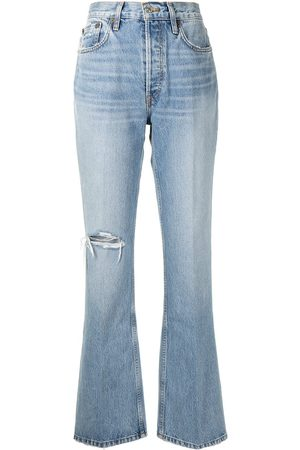 RE/DONE Ripped-detail jeans