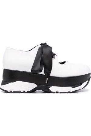 Marni Ženy Na platformě - Lace-up platform sneakers
