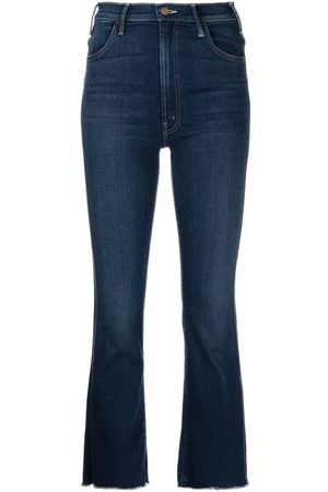 Mother Ženy Bootcut - High-rise flared jeans