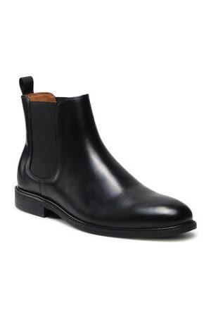 Gino Rossi Muži Kotníkové - Kotníková obuv s elastickým prvkem