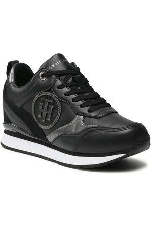Tommy Hilfiger Ženy Na platformě - Metallic Dressy Wedge Sneaker FW0FW05801
