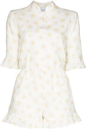 Sleeper Ženy Pyžama - Daisy-print pyjama set