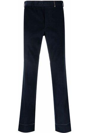 BRIONI Muži Rovné nohavice - Corduroy pressed-crease straight trousers