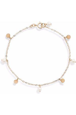 POPPY FINCH 14kt yellow gold Confetti Station pearl bracelet