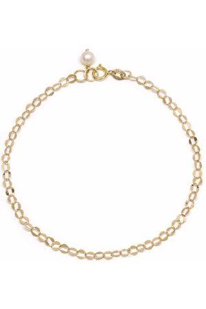 POPPY FINCH 14kt yellow gold Oval Shimmer bracelet
