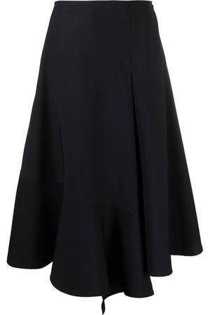 Colville Asymmetric-hem midi skirt