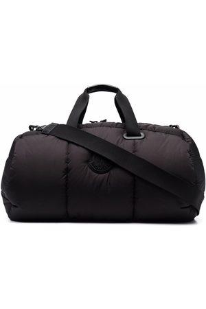 Moncler Cestovní tašky - Logo patch padded holdall