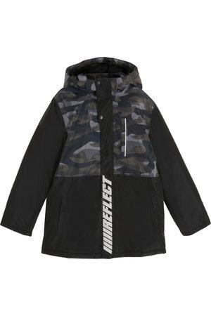 bonprix Chlapci Venkovní - Chlapecká bunda s kapucí, nepromokavá a prodyšná