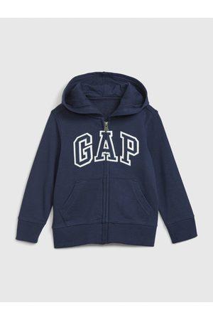 GAP Chlapci Mikiny s kapucí - Klučičí mikina logo hoodie