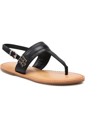 Tommy Hilfiger Hardware Th Flat Leather Sandal FW0FW05912