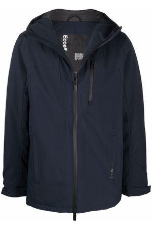 ECOALF Muži Pláštěnky - Hooded recycled polyester rain jacket