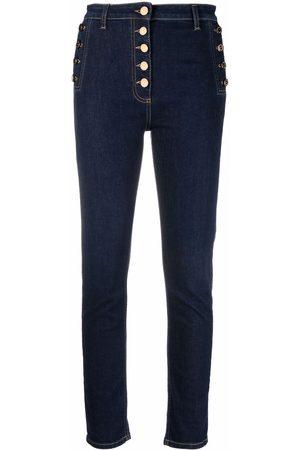 Elisabetta Franchi High-waist skinny jeans