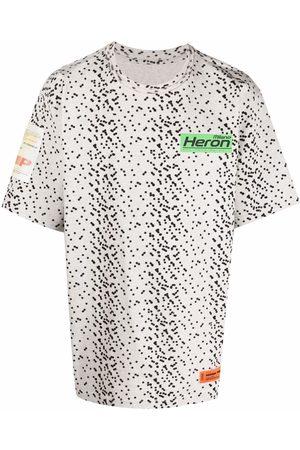 Heron Preston Muži S krátkým rukávem - Logo polka-dot T-shirt