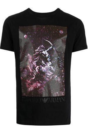 Emporio Armani Muži S krátkým rukávem - Graphic-print short-sleeve T-shirt