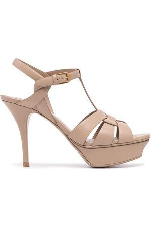 Saint Laurent Ženy S otevřenou špičkou - Tribute high-heel sandals