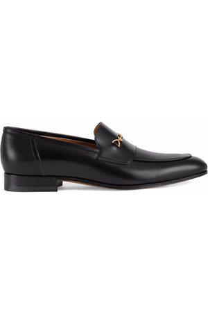 Gucci Muži Nazouváky - Interlocking-G Horsebit-detail loafers