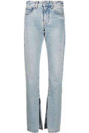 OFF-WHITE Ženy Rovné nohavice - Straight-leg jeans