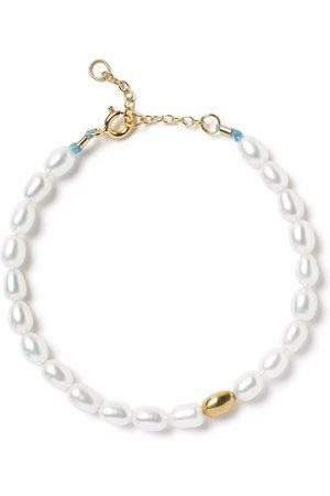 The Alkemistry Ženy Náramky - 18kt yellow gold Vianna pearl bracelet