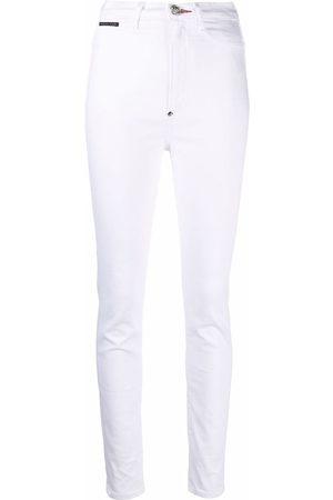 Philipp Plein Ženy S vysokým pasem - High-waist jegging jeans