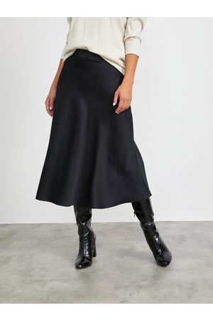 METROOPOLIS Černá maxi sukně Olympie