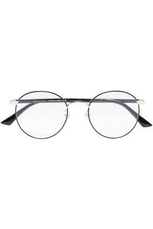 Gucci Muži Sluneční brýle - Oval-frame glasses